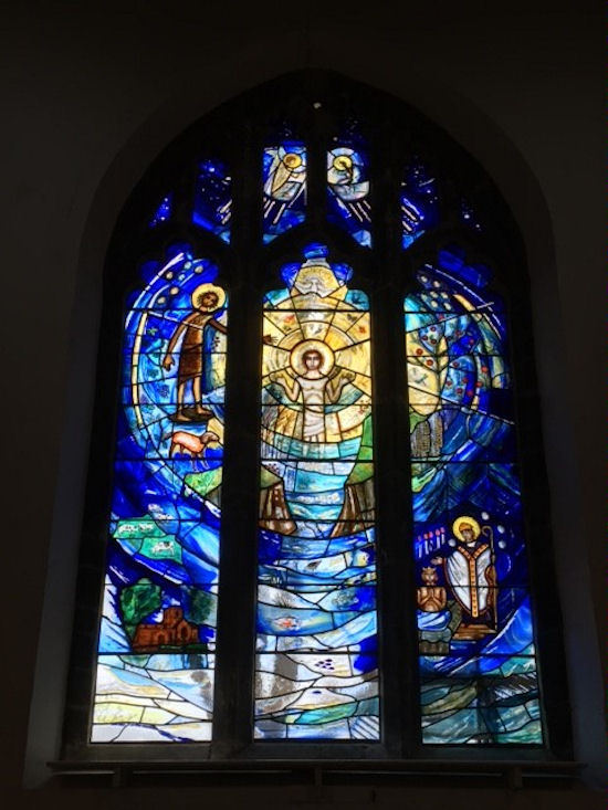 West Window, St. Remigius, Long Clawson